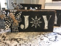 Excited to share the latest addition to my shop: Rustic Barnwood Joy Christmas Sign Christmas Crafts For Gifts, Christmas Signs, Rustic Christmas, Christmas Projects, All Things Christmas, Christmas Holidays, Christmas Decorations, Christmas Items, Xmas