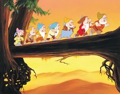 Pumpkins & Random Projects: What the 6/7 Dwarves from Snow White & the Seven Dwarves