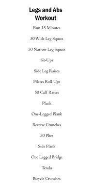 Legs and Abs Workout