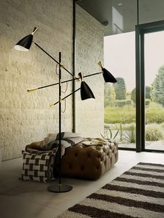 And Duke strikes again! This time, in a modern floor lamp version, that will best complement your house design.