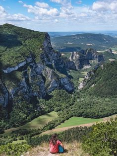 From the Saou forest to the Omblèze gorges: nature hikes in the Drôme - landscape Camping France, Camping In Maine, Camping In The Rain, Camping And Hiking, France Travel, France Landscape, Forest Landscape, Mountain Landscape, Camping San Sebastian