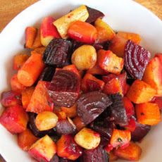 {The Shiksa in the Kitchen} Oven Roasted Root Vegetables Recipe. YUM :D