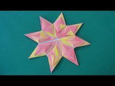"""折り紙「花火」折り方""""Fireworks""""Origami - YouTube"""