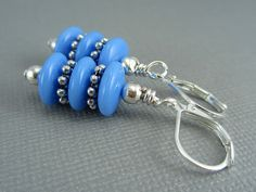Stacked Disc Dangle Earrings $9.00 by AllTwisted.      Use code PIN10 for 10% off your purchase!