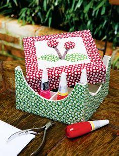 Porta-esmaltes de carton mousse / DIY, Craft, Upcycle