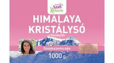 500-.  Szafi Reform Himalaya só, rózsaszín, finomszemcsés 1000g