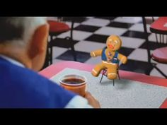Gingy's first day working at WALMART (from Shrek)