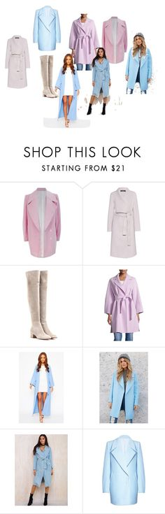 """пальто"" by kaljamovakristina on Polyvore featuring мода, FAIR+true, Steffen Schraut, Gianvito Rossi, Weekend Max Mara и Forever 21"