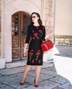 Vintage Fashion Style Outfits Dita Von Teese Ideas For 2019 Vintage Mode, Vintage Girls, Party Dresses For Women, Trendy Dresses, Floral Fashion, Retro Fashion, Modern Vintage Fashion, Vintage Style Outfits, Vintage Dresses