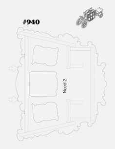OK Decoupage, Model Building Kits, 3d Puzzles, Scroll Saw Patterns, Miniature Furniture, Pattern Art, Art Patterns, Dremel, Paper Cutting