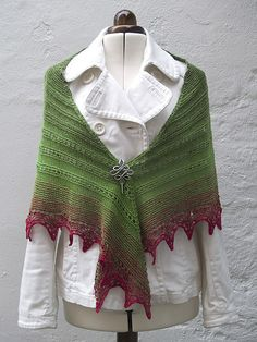Ravelry: Alma Ella Shawl pattern by Robin Lynn Free knitting pattern