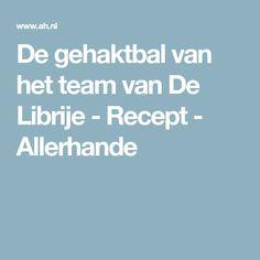 De gehaktbal van het team van De Librije - Recept - Allerhande