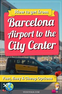 In this article, we explain to you how to get from Barcelona Airport to the City Center (El Prat, Girona or Reus) - all transport options 2020 Spain And Portugal, Portugal Travel, Spain Travel, Portugal Trip, Croatia Travel, Hawaii Travel, Italy Travel, European Destination, European Travel