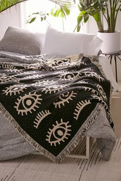 Calhoun & Co. UO Exclusive Allover Eyes Woven Throw Blanket 2019 Slide View: Calhoun & Co. X UO Allover Eyes Woven Throw Blanket The post Calhoun & Co. UO Exclusive Allover Eyes Woven Throw Blanket 2019 appeared first on Blanket Diy. Cozy Blankets, My New Room, Decoration, Home Accessories, Living Spaces, Living Room, Sweet Home, Bedroom Decor, House Design
