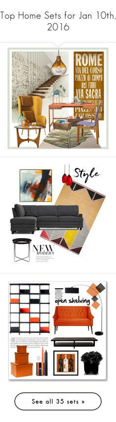 """""""Top Home Sets for Jan 10th, 2016"""" by polyvore ❤ liked on Polyvore featuring interior, interiors, interior design, home, home decor, interior decorating, ArteHouse, Kay + Stemmer, Incipit and ESPRIT"""