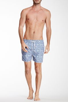 Swallow Print Swim Trunk by Another Influence on @nordstrom_rack