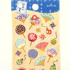 Japanese-Stickers-Hand-Fans-in-Summer-Festival-S239