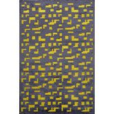 Dining room - Found it at Wayfair - Fables Black/Yellow Area Rug