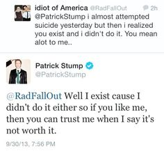 Patrick <3 this is why he is just the most awesome romodel