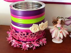 Hair accessories storage + other decorating ideas for girl's bedrooms via Childhood 101