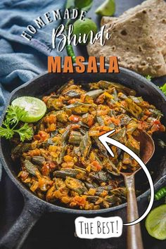Punjabi Bhindi Masala is a spicy preparation of Okra which goes very well with any Indian bread or Rice and Dal. Quite easy to make, this tasty North Indian dish is surely going to tickle your palate. Here is how make it.