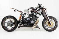 Honda CBX Wide Boy: Conheça esta bela café racer!