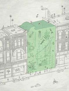 "littlechien: "" littlechien via illustration-ilustracion 1000drawings: "" by Brian Rea "" """