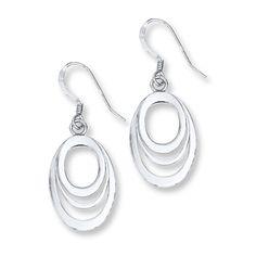 Dangle Earrings Sterling Silver