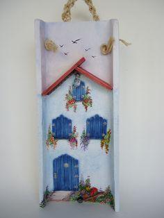 Telha decorada por dentro