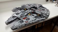 Building my own Millennium Falcon. Based on the original Set, but I try to get my own touch on it. Lego Falcon, Millennium Falcon, Lego Ideas, Lego Creations, Lego Star Wars, Legos, Starwars, Awesome, Board