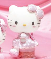 "13"" Sanrio HELLO KITTY Plush Doll Toy Doll soft pink #2"