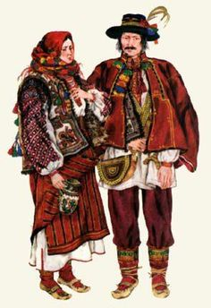Hutsul outfit ,Ukraine, from Iryna