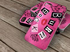 new Mean Girls Burn Book spesial design iphone by KOWLONGJEMBUTAN, $13.99