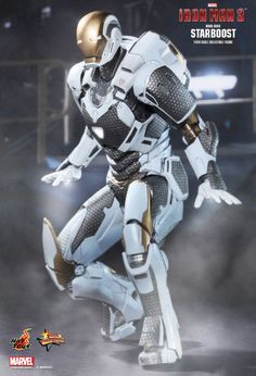 Hot Toys : Iron Man 3 - Starboost (Mark XXXIX) 1/6th scale Collectible Figure