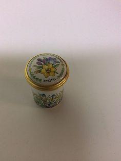 ENGLISH HALCYON DAYS ENAMELED BOX Halcyon Days, Trinket Boxes, Jars, Dresser, Enamel, English, Antiques, Ebay, Antiquities