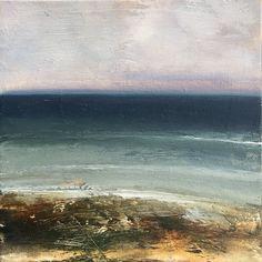 Blue East Oil On Canvas, Waves, Paintings, Sky, Frame, Handmade, Blue, Outdoor, Heaven