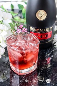 Finding My Passion {Cocktail Ideas Using Rémy Martin} Dessert Drinks, Fun Drinks, Yummy Drinks, Alcoholic Drinks, Beverages, Desserts, Cocktail Drinks, Cocktails, Jack Daniels