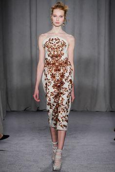 Marchesa Fall 2014 Ready-to-Wear Fashion Show