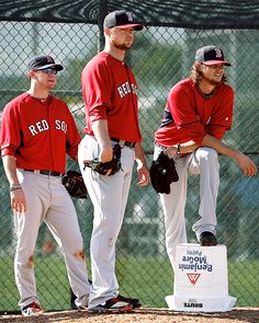 Jake Peavy, Jon Lester, and Clay Buchholtz. 2014 - pitchers!