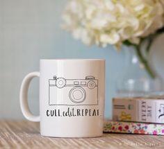 Cull Edit Repeat Photography Mug – Oh Hello Sugar