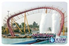 world's most amazing roller coasters Biggest Roller Coaster, Diablo Cody, Hills And Valleys, Roller Coasters, Ecommerce Hosting, Thriller, Scary, World, Amazing
