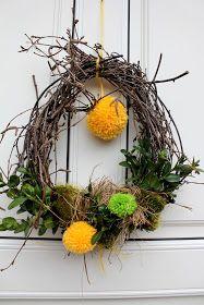 krans-krans Du er på rett sted om jul krans diy Her tilbyr vi deg … Grapevine Wreath, Most Beautiful Pictures, Easter Eggs, Diy And Crafts, Projects To Try, Presents, Wreaths, Massage, Numbers