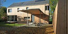 FØRSTE I SITT SLAG: Da det ble bygget i 2008/2009 var dette det passivhuset det første i sitt slag både i Oslo og i Norge.