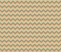 Nature_Chevron fabric by ©_lana_gordon_rast_ on Spoonflower - custom fabric