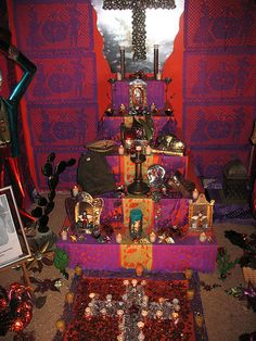 "Visit during ""Las Muertes"", the first days of November to see amazing Altares de Dia de los Muertos"