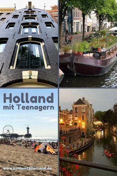 Holland, Reisen In Europa, Teenager, Roadtrip, Hotels, Strand, Happiness, Travel, Design
