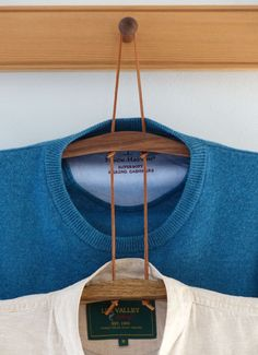Shaker-Kleiderbügel, doppelt gehängt / Seeland