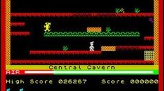 Manic Miner (1983) by Bug Byte - ZX Spectrum first level