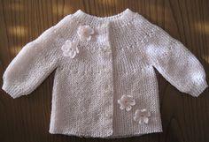 Pontos e Apontamentos...: casaco Ondinhas com flores