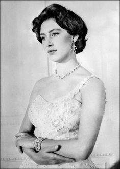 The Princess Margaret of the United Kingdom (1930-2002). She is a daughter of King George VI and his wife, The Lady Elizabeth Bowes-Lyon. She was The Countess of Snowdon (1960-1978) as the wife of Antony Armstrong-Jones The 1st Earl of Snowdon. Her children are David Armstrong-Jones Viscount Linley, and Lady Sarah Armstrong-Jones.